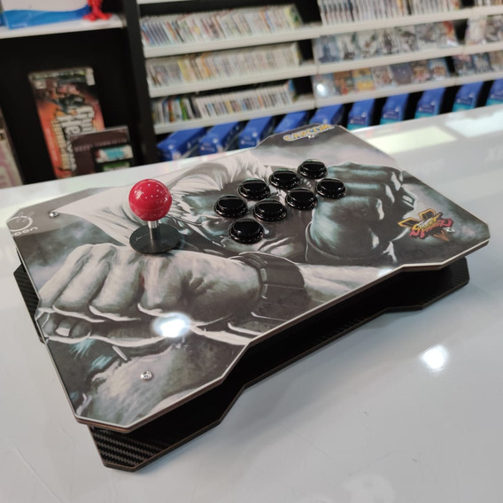 Controle Arcade Fliperama Usb Ps3 Ps4 Pc Raspberry