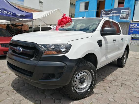 Ford Ranger 2.5 Xl Cabina Doble Mt 2017 Poblana Familiar