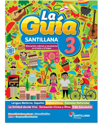 Imagen 1 de 2 de 3º(14) + 2º(1) = 15 Guías Santillana Prim. 2021-2022