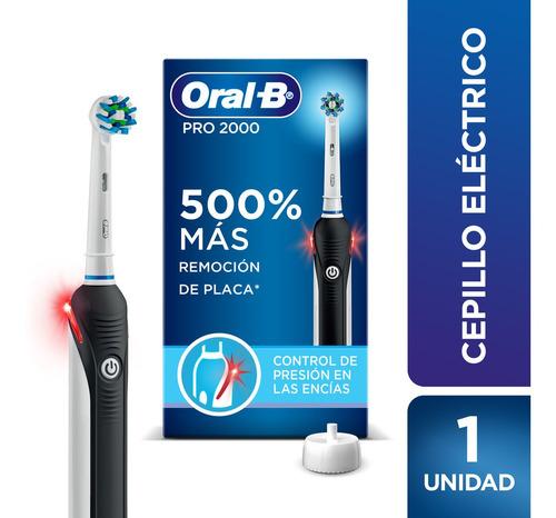 Imagen 1 de 10 de Cepillo Eléctrico Recargable Oral-b Pro 2000