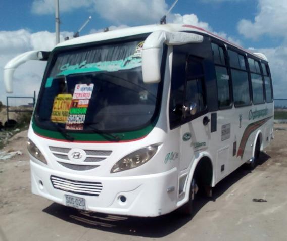 Buseta Hyundai Hd78 Servicio Urbano 19 Pas