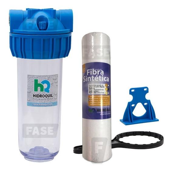 Filtro Purificador Hidroquil 1 Mic Fibra Sintética Rosca 3/4