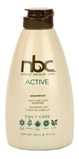 Nbc Shampoo Active Anti Caida 300ml, Envio Gratis