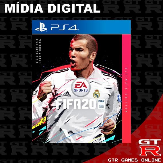 Fifa 20 Ultimate Ps4 Midia Digital Primaria 1 Psn Promoção