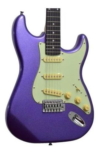 Guitarra Eletrica Tagima Tg500 Metallic Purple Mpp