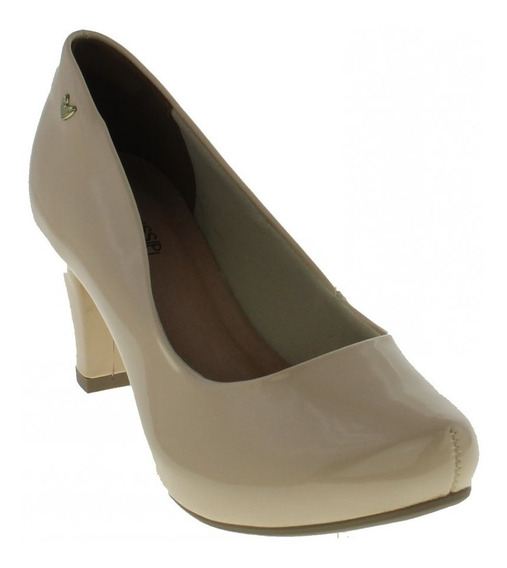 Sapato Mississipi X9092 Feminino Boneca Com Salto Medio