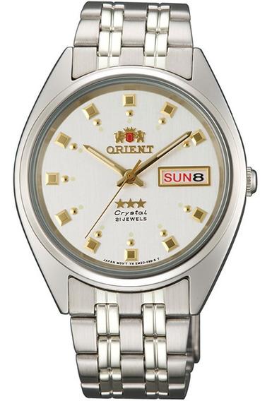 Reloj Orient Automático Acero Plateado Fab00009w9 De Hombre