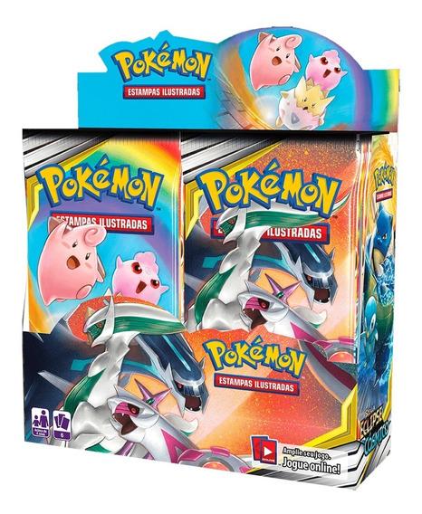 Booster Box Pokémon 36 Pacotes Sol Lua 12 Eclipse Cósmico