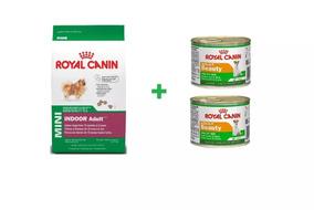 Ração Royal Mini Adult Indoor 2,5 Kg + 2 Latas Grátis