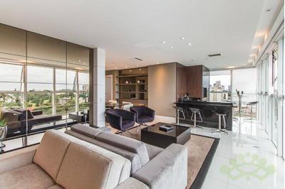 Apartamento Com 3 Dormitórios À Venda, 176 M² Por R$ 1.240.000 - Cabral - Curitiba/pr - Ap0511