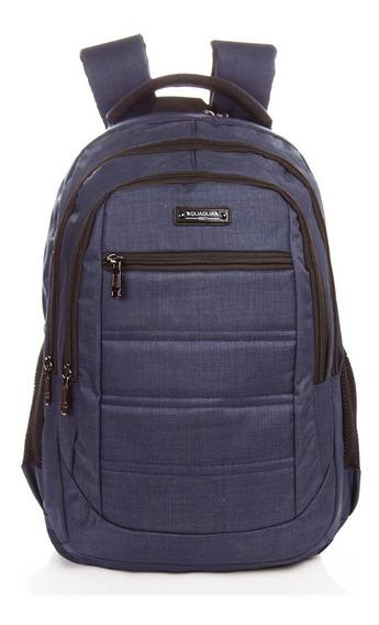 Mochila Quaglia Qs308 Unisex Reforzada Porta Noteb Escolar