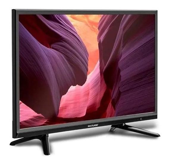Monitor Tv Multilaser Hd 24 Pol Hdmi Usb Com Conversor Tl016