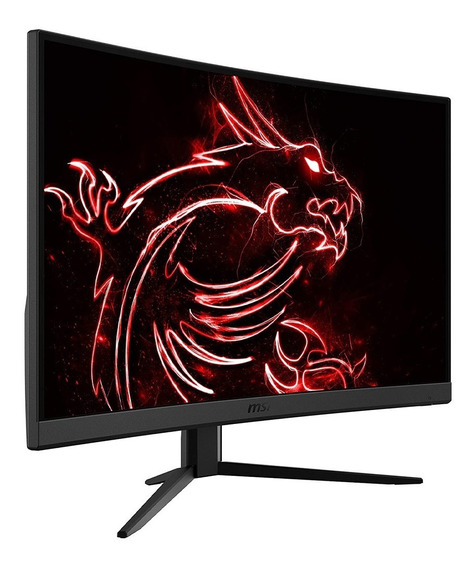 Monitor Curvo Gamer 24 Pulgadas Msi Optix G24c4 1080p 144hz