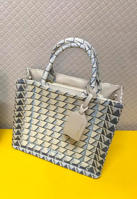 Bolsa Schutz Triangle White Maxi