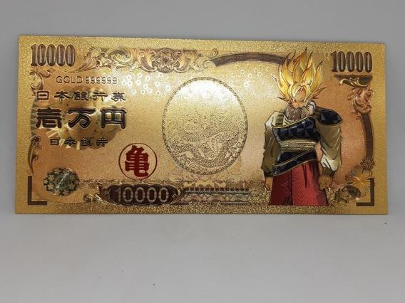Notas Dragon Ball Z Dourada
