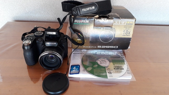 Câmera Fujifilm Finepix S2950 Semiprofissional