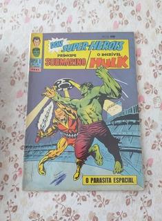 Super X Hulk/namor Nº27 Ebal
