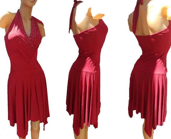 Vestidos De Fiesta Super Elastizado Marilyn Talle 3 Al 5!!!