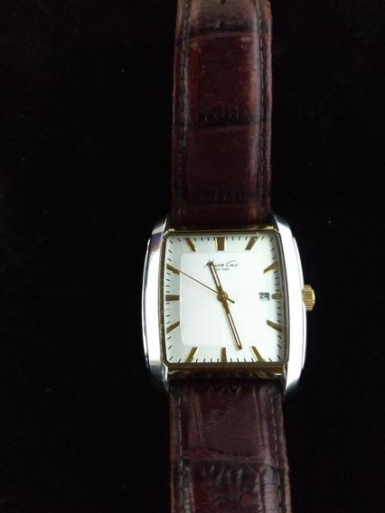 Reloj Kenneth Cole Caratula Blanca