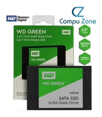 Disco Solido Ssd Westerm Green 480gb 2.5 Sata Pc Laptop New