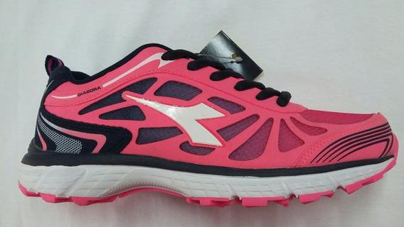 Zapatillas Diadora Sent W Running Gym Envíos Pais T36