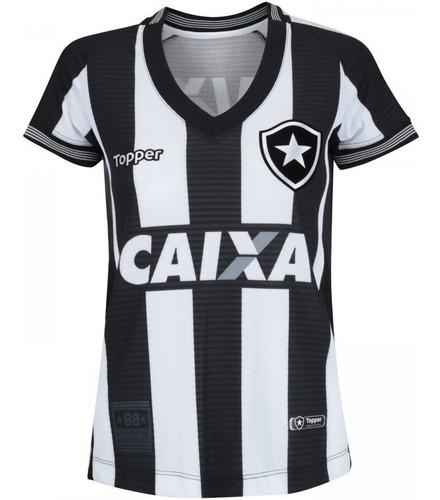 Camisa Botafogo Feminina 2018 Topper Promoção