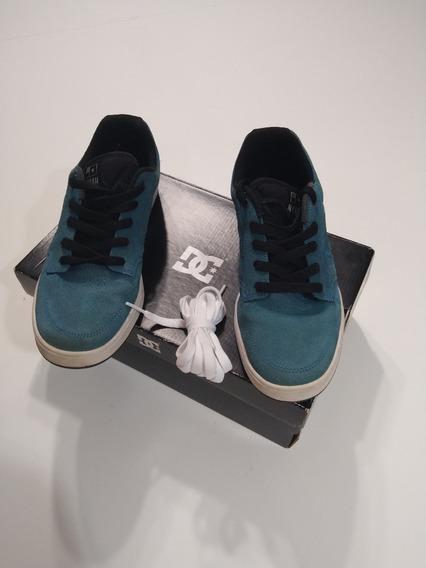 Zapatillas Dc Numero 37 Como Nuevas, Muy Poco Uso ( 2 Cordon