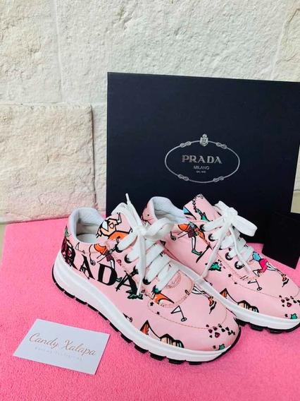 Tenis Prada Originales No Gucci Ch Dg