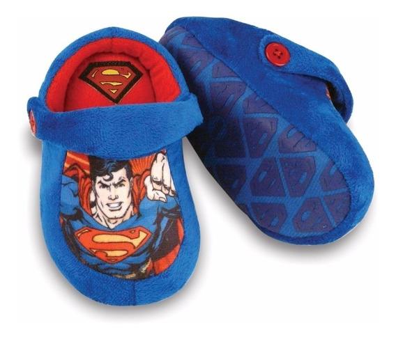 Pantufa Chinelo Super Homem Kick - Ricsen
