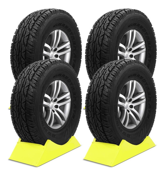 Kit 4 Pneu Aro 16 Dunlop Grandtrek At3 265/75r16 112s