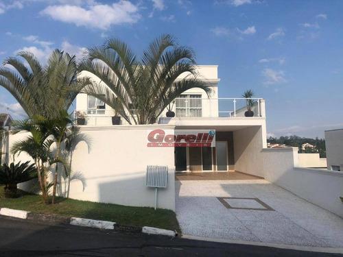 Casa Com 3 Dormitórios À Venda, 270 M² Por R$ 3.300.000,00 - Condomínio Real Park - Arujá/sp - Ca0082