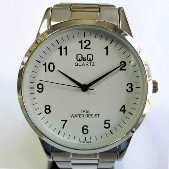 Relógio Q & Q Masculino Modelo Slin C212j204y