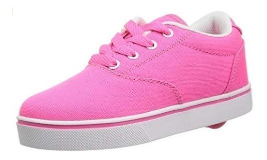 Zapatos Con Ruedas Heelys Launch Rosa T36.5