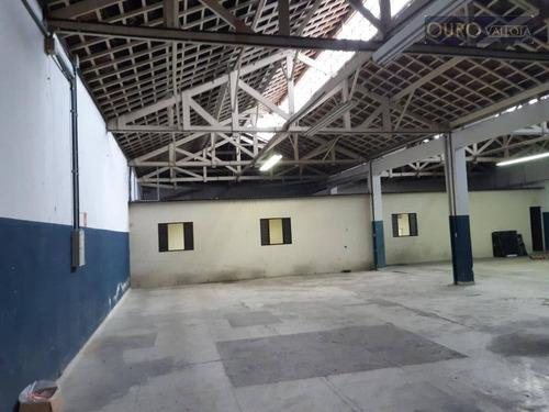 Galpão À Venda, 1059 M² Por R$ 3.500.000,00 - Mooca - São Paulo/sp - Ga0662