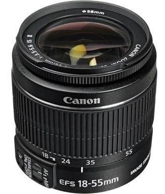 Lente Canon 18-55 Mm 3.5-5.6