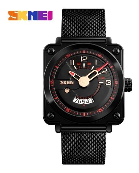Relógio Masculino Skmei 9172 De Pulso Original Frete Grátis