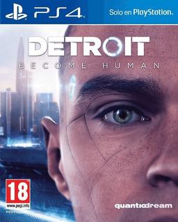 Detroit Become Human Digital Español Ps4