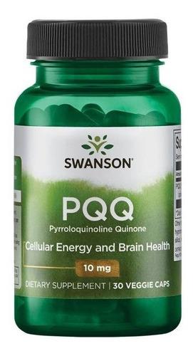 Pqq Pirroloquinolina Quinona 10 Mg 30 Veg Caps.