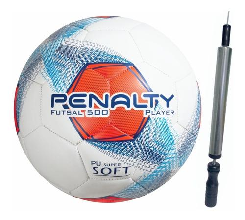 Imagem 1 de 4 de Bola Futsal Futebol Penalty Original Profissional + Inflador