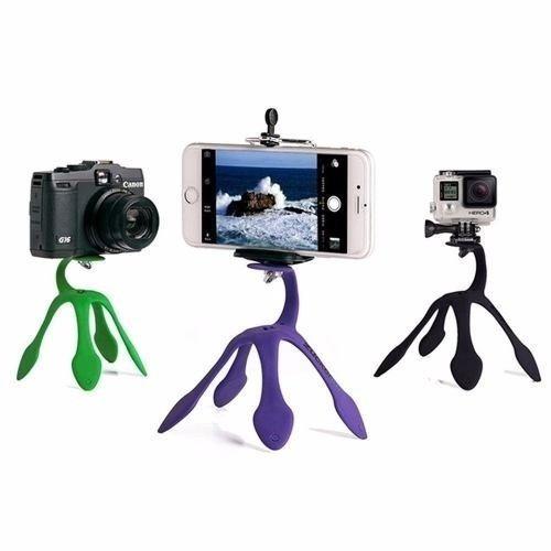 Suporte Para Celular,camera E Gopro Flexivel Gekkopod