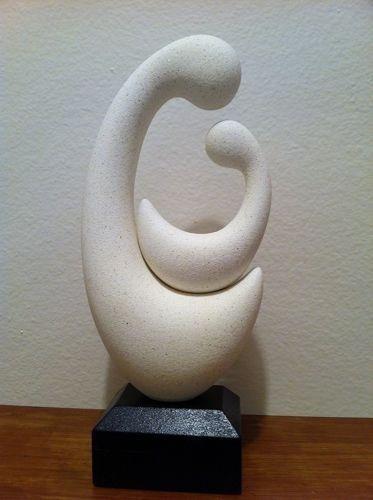Estatua Madonna Clásica Grande Escultura Madre Niño Faardym