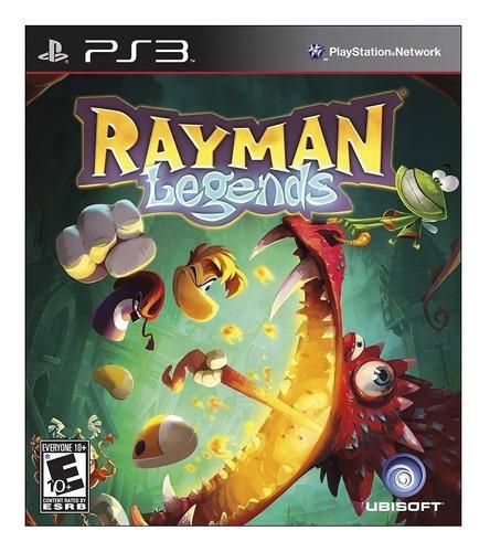 Rayman Legends Ubisoft PS3 Digital