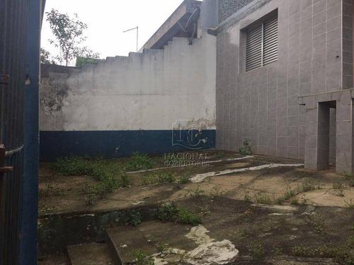 Terreno À Venda, 193 M² Por R$ 320.000,00 - Parque Capuava - Santo André/sp - Te1131