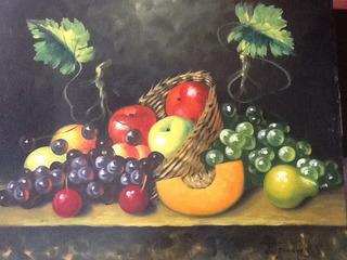 Lienzo Bodegon Frutas (nuevo)