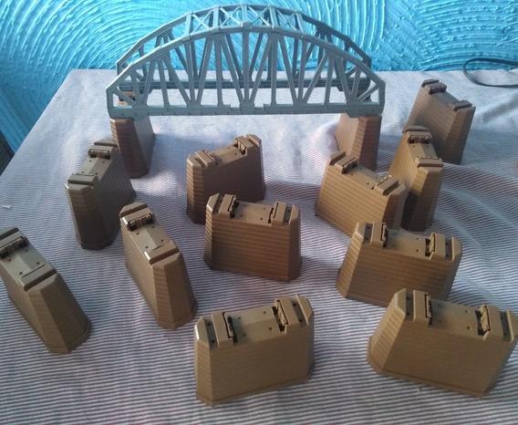 Ferrorama Xp 1500 - Ponte E Sustentação De Pista