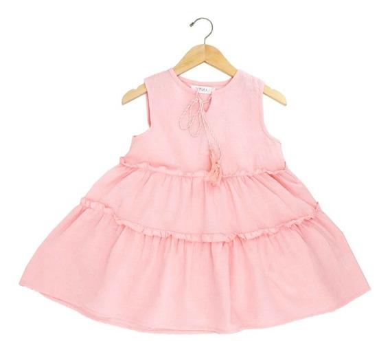 Vestido Casual De Niña Holgado En Oferta 03818