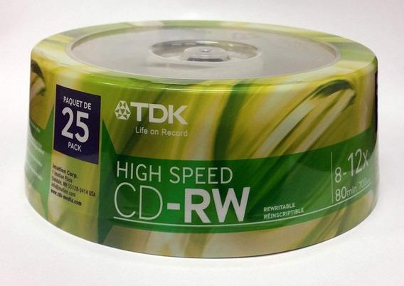 Cd-rw Regrabable Tdk & Memorex