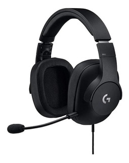 Auriculares Gamer Logitech G Pro Gaming Negro 981-000811