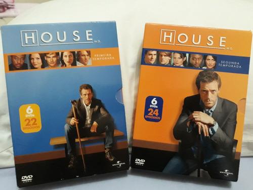 Box Dvd Serie Dr. House - Temp. 1 E 2 - Original