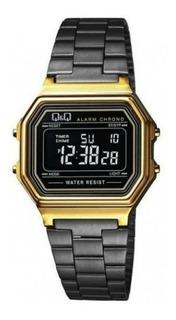 Reloj Q&q M173j004y De Mujer Digital Negro